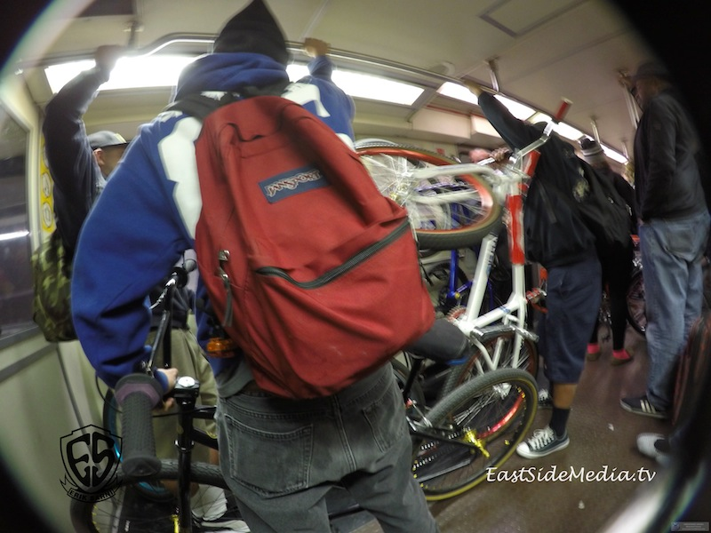 4130 Subway Series  BMX Ride December 12, 2015